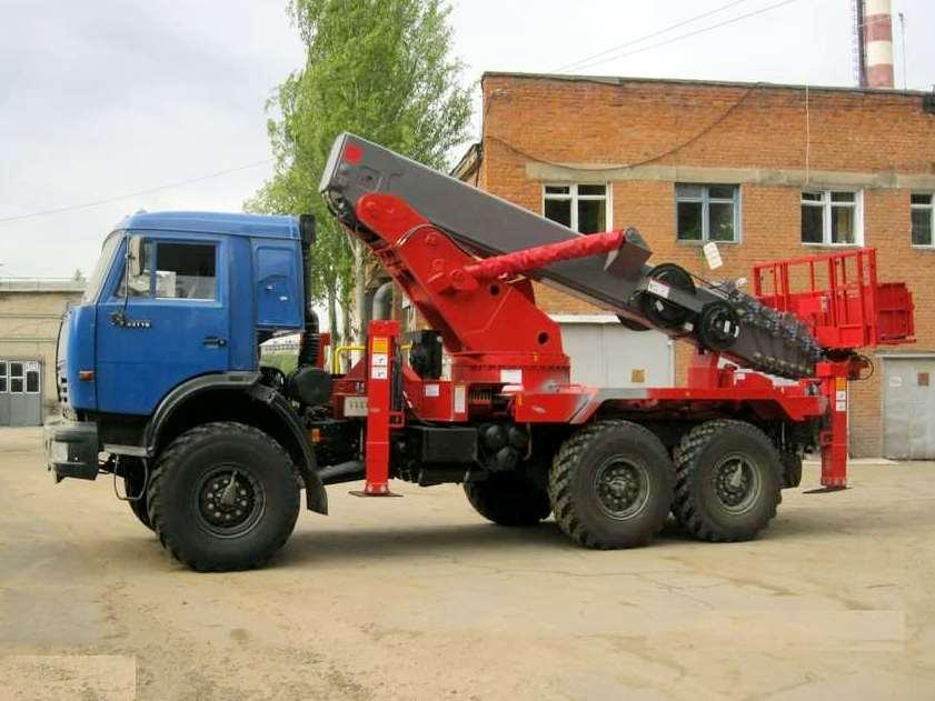 Заказ автовышки КамАЗ АПГ-45 грузоподъемностью 500 кг