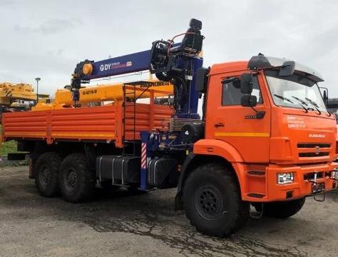 Аренда манипулятора 8 тонн <br>автокран КамАЗ 43118