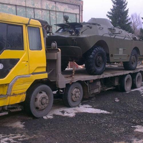 Перевозка военных грузов