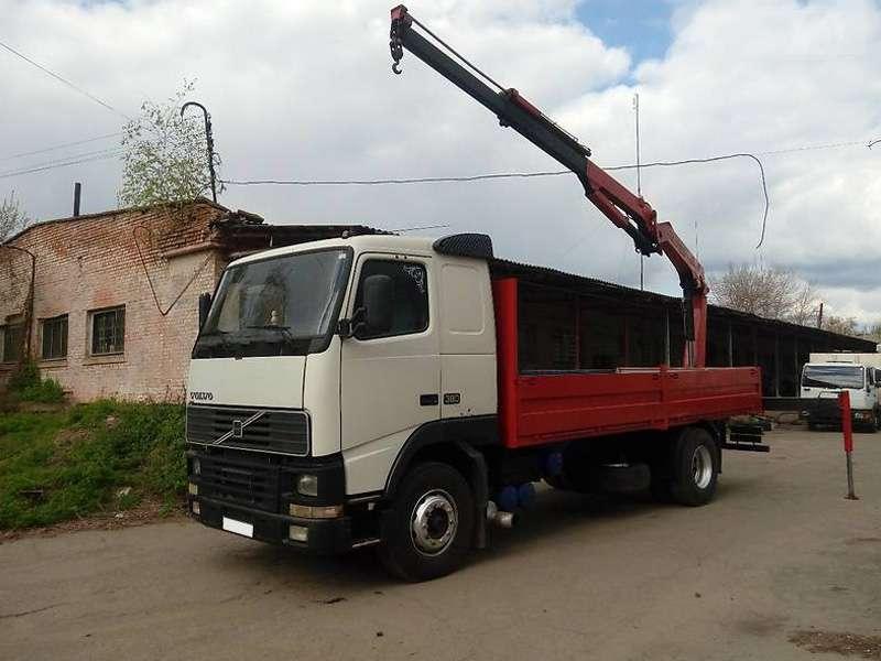 Кран манипулятор 8 тонн <br>Volvo FM12 по цене от 1400 руб